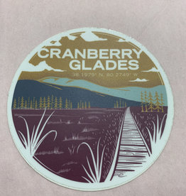 Wild & Wonderful Lifestyle Company Cranberry glades Sticker