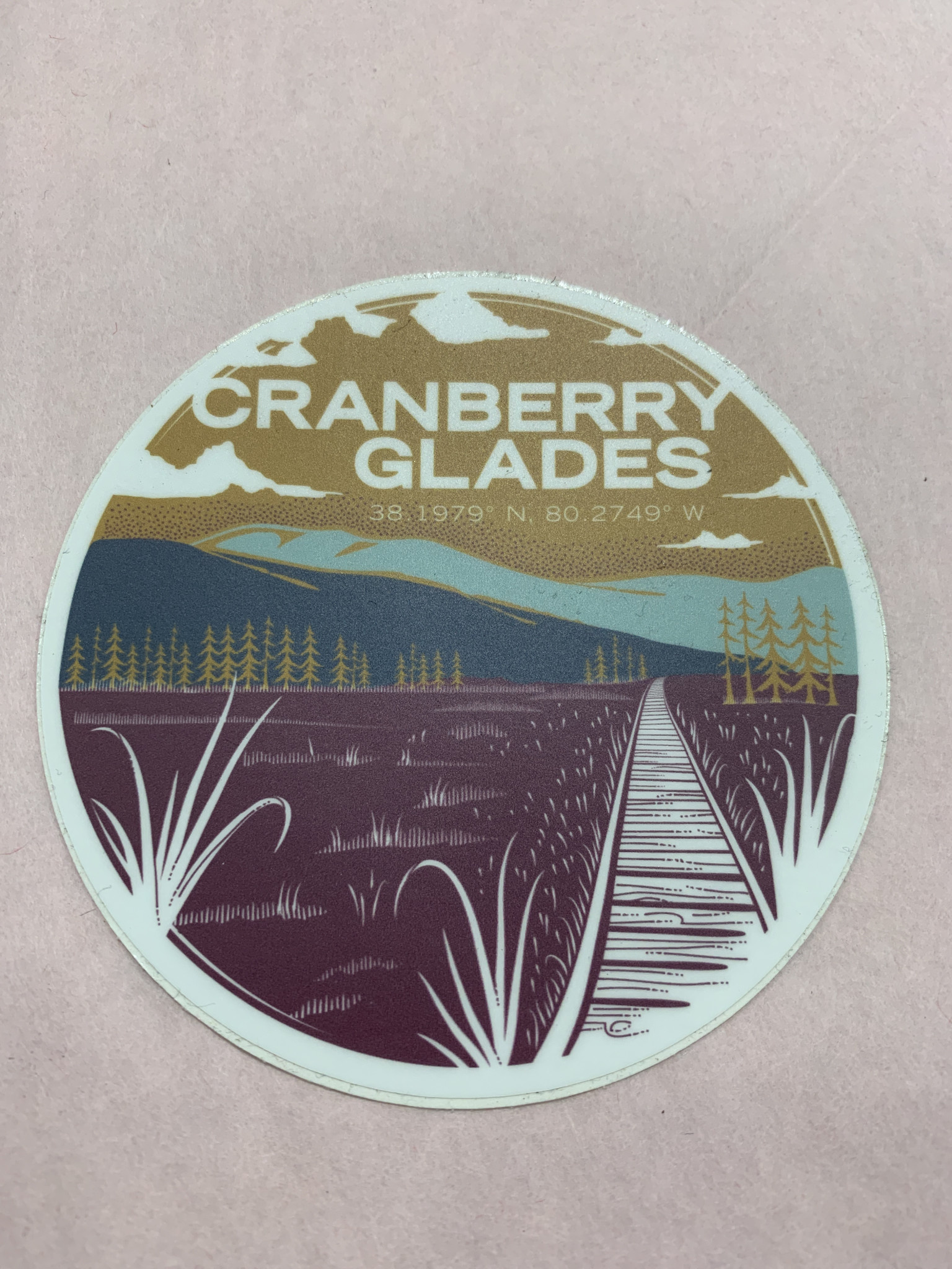 Wild & Wonderful Lifestyle Company Cranberry glades Sticker