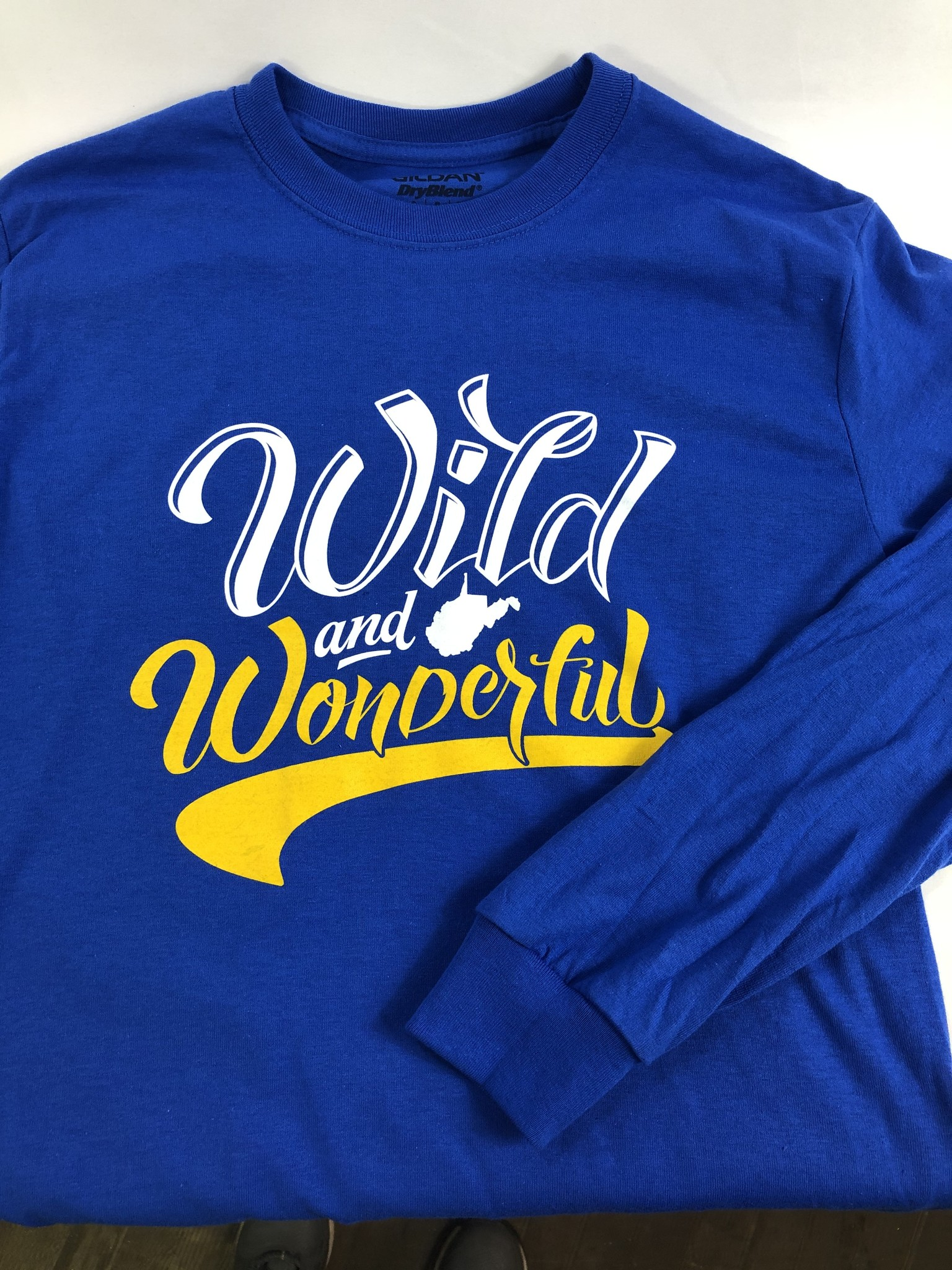 Loving WV Wild and Wonderful  Longsleeve Small