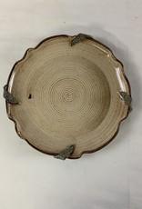 Randy Selbe Artisan Randy Selbe Platter w/ Leaves