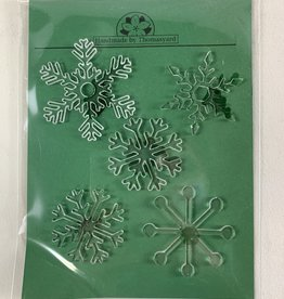 Davisyard Snowflake Ornament Set (Acrylic)