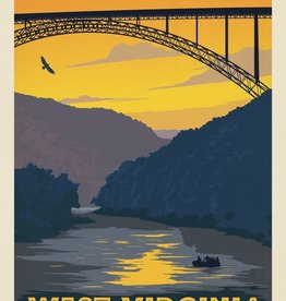 Anderson Design Group New River Gorge  8x10 Print