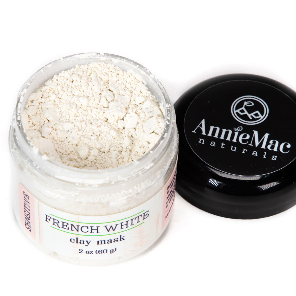 Annie Mac WG&S French White Clay Mask Small