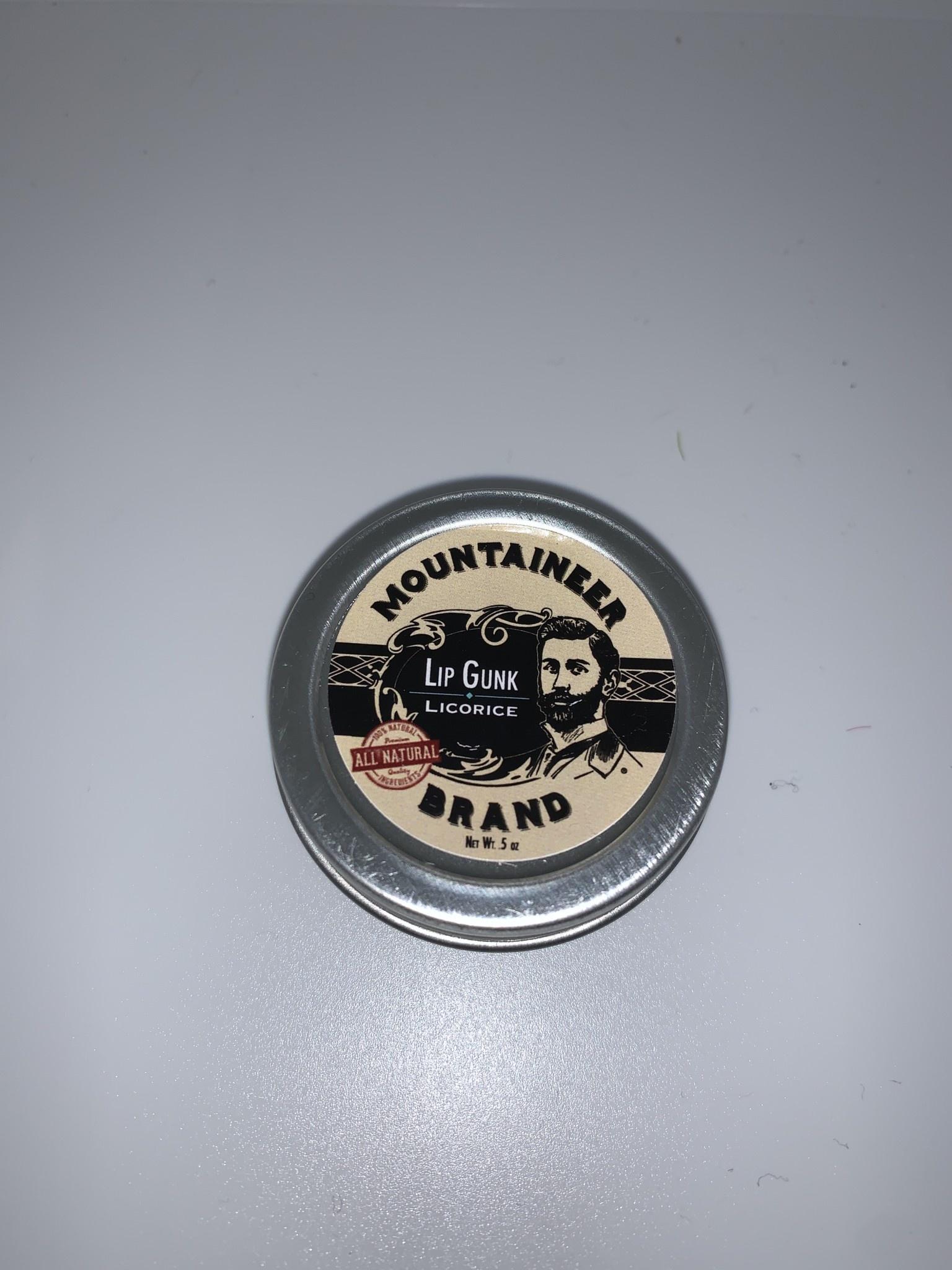 Mountaineer Brand Lip Gunk Licorice
