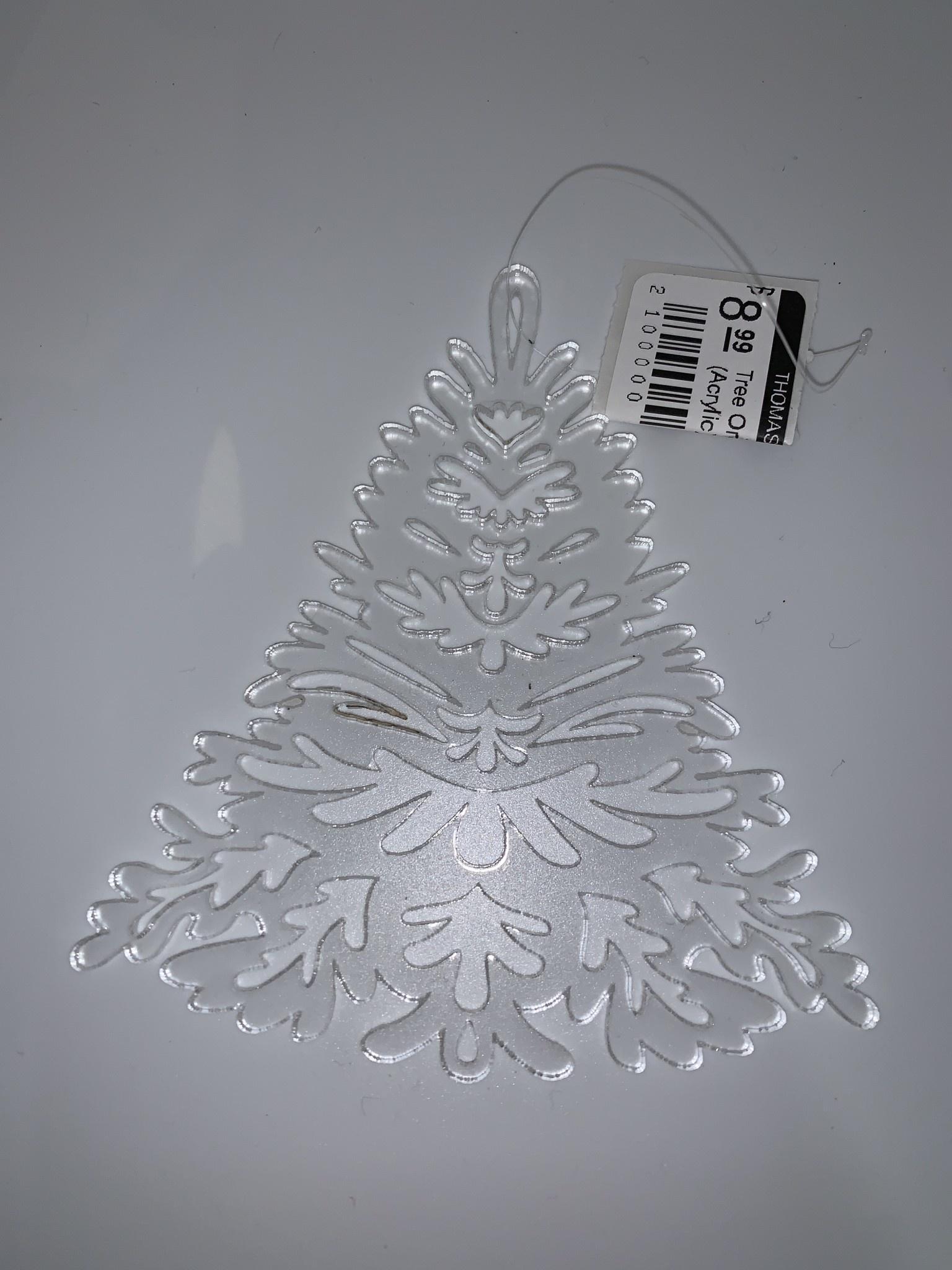 Davisyard Tree Ornament (Acrylic)