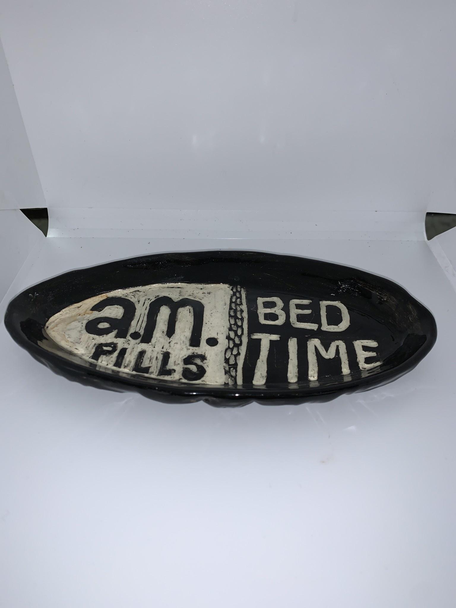 Nanette Oval Bowl - Pills AM PM