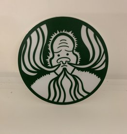 Wonderfully Weird Designs Squatchbucks- 3x3 Circle