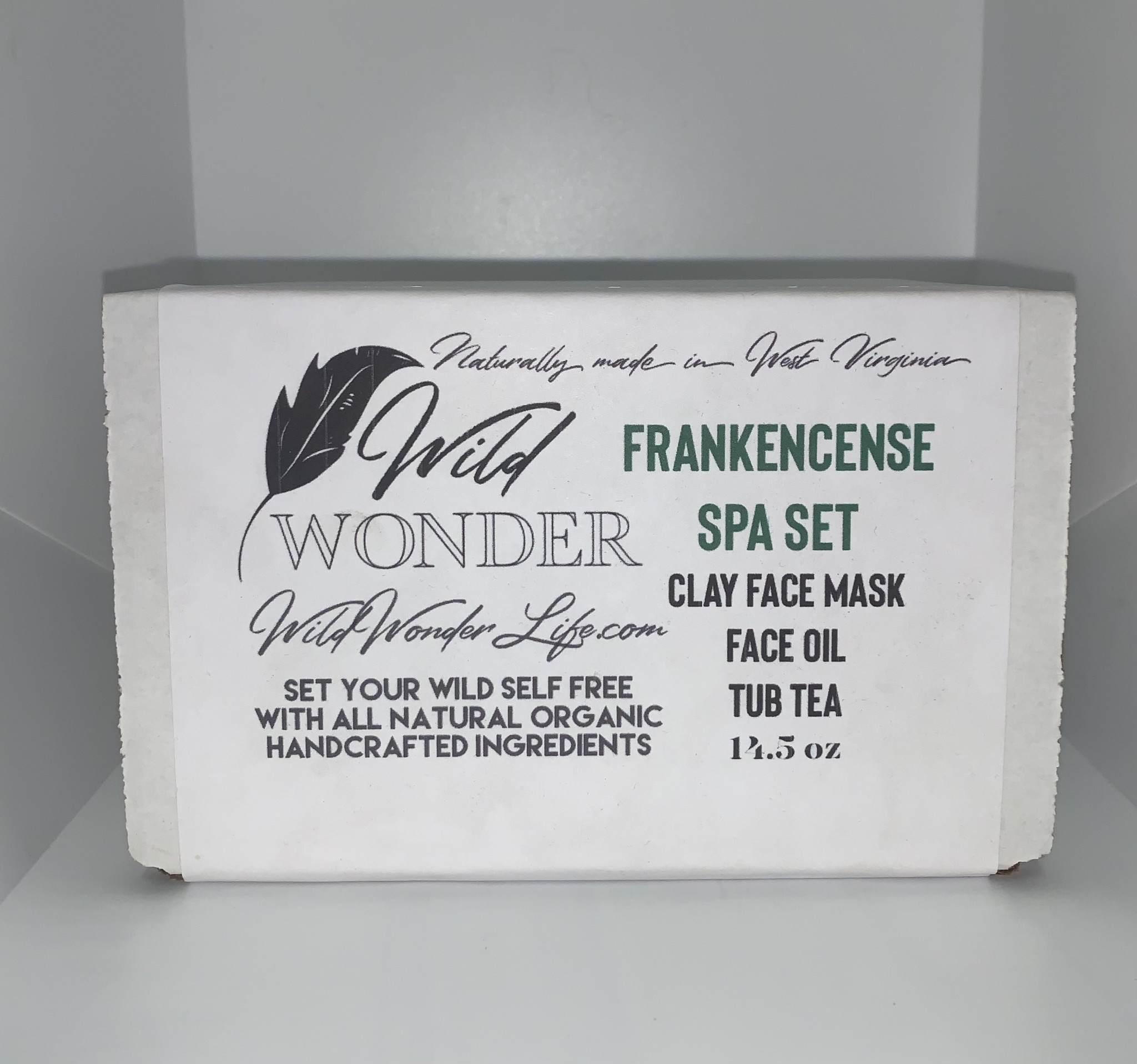 Wild Wonder Frankincense Spa Set