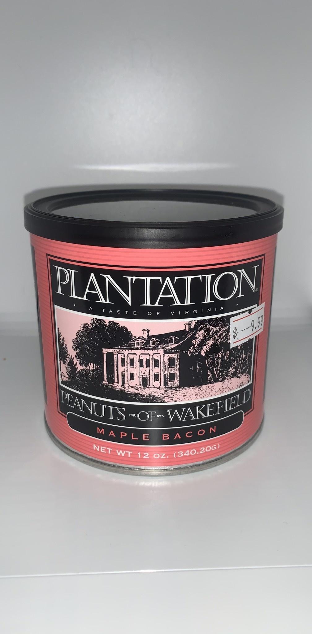 Plantation Peanuts of Wakefield Plantation Peanuts 12 oz.  Maple Bacon