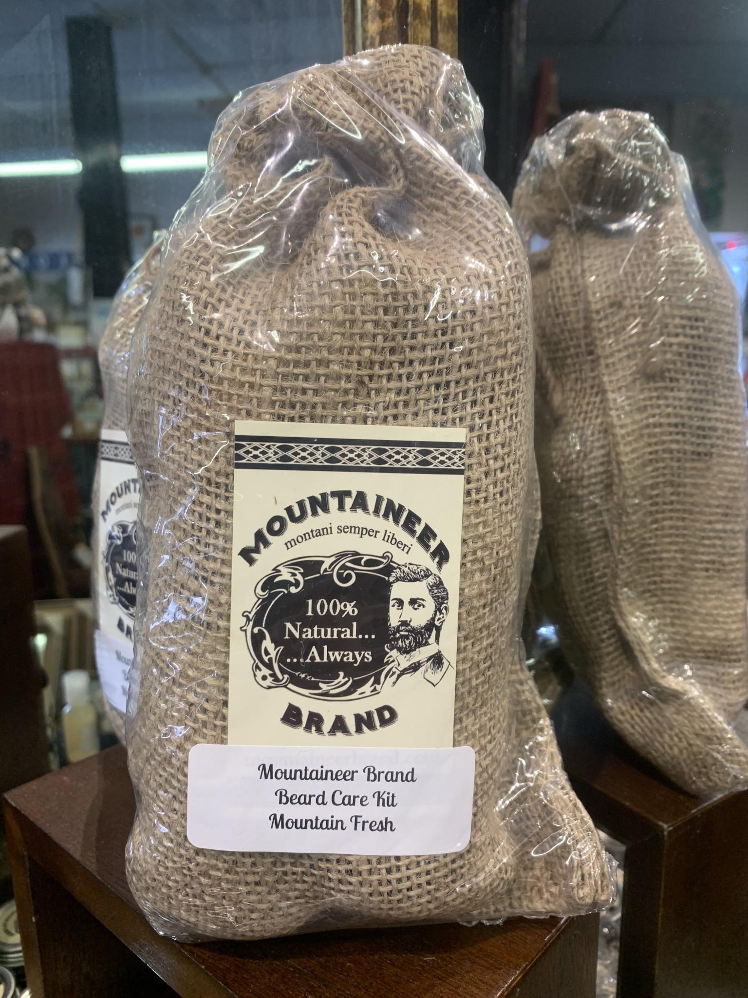 Mountaineer Brand Beard Kit Mt. Fresh