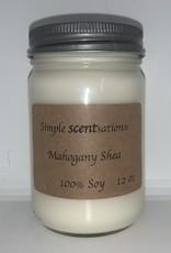 Simple Scentsation Mahogany Shea 12oz