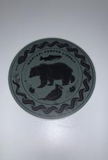Wild & Wonderful Lifestyle Company Mountain Semper Liberis Bear Sticker