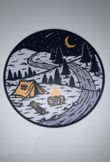 Wild & Wonderful Lifestyle Company Camp Sticker