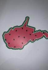 Wild & Wonderful Lifestyle Company WV Watermelon Sticker
