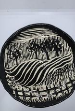 Nanette Medium Bowl – Trees/Fields