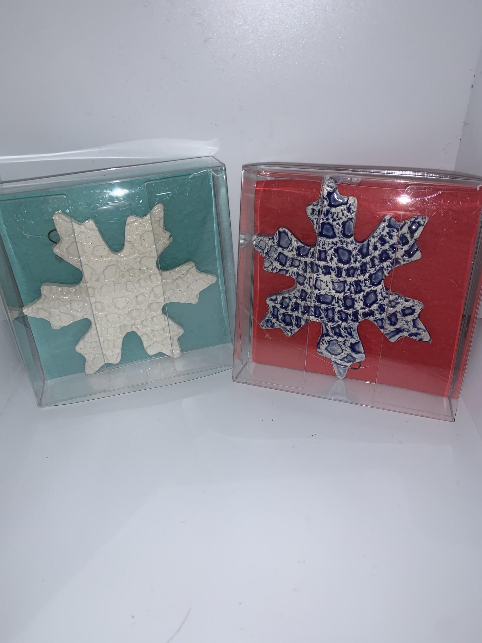 Nanette Seligman Ornaments snowflakes