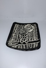 Nanette Small Rectangle - Owl, Moon, Branch