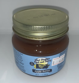 West Virginia Fruit and Berry WVF&B 9.5 Apple Butter Jar