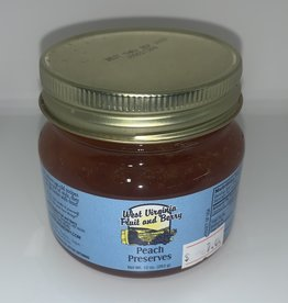 West Virginia Fruit and Berry WVF&B 10 oz. Peach Preserves