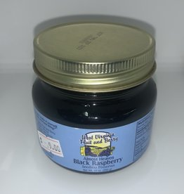 West Virginia Fruit and Berry WVF&B 10 oz. Black Raspberry Seedless Preserves