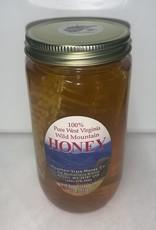 Mountain State Honey Company Mtn State Honey Chunk 16oz Jar