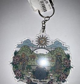 Wild & Wonderful Lifestyle Company WV Day Keychain