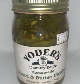 Appalachian Mountain - Bread & Butter Pickles 16oz