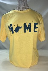 Wild & Wonderful Lifestyle Company Yellow Home Tee Lg