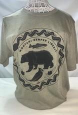 Wild & Wonderful Lifestyle Company WV Mountain Semper Bear Tee XL