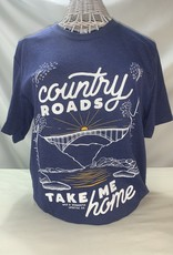 Wild & Wonderful Lifestyle Company WV Country Roads Tee XL