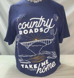 Wild & Wonderful Lifestyle Company WV Country Roads Tee Lg