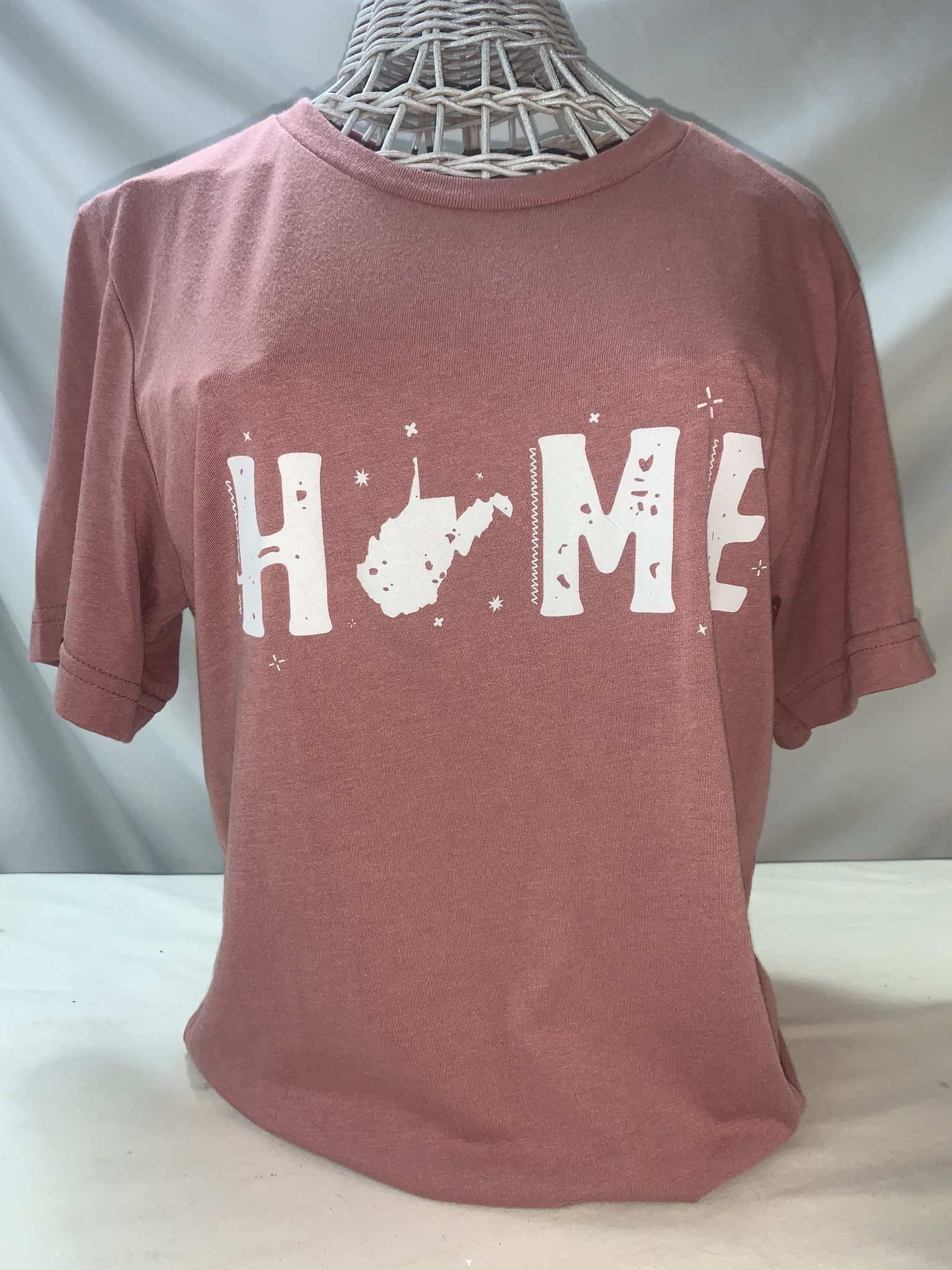 Wild & Wonderful Lifestyle Company Pink Home Tee Sm