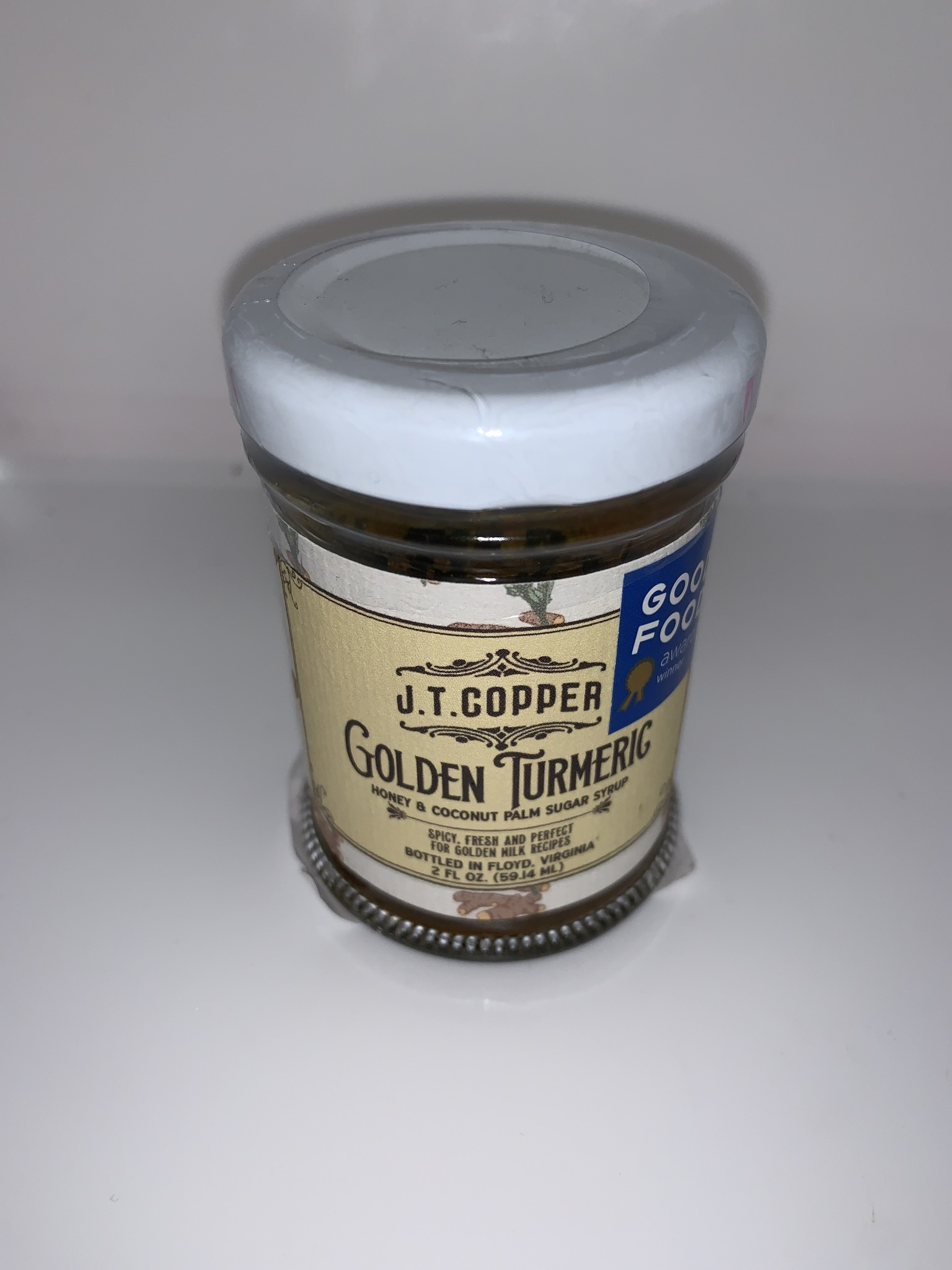 JTC Golden Turmeric Cane Syrup