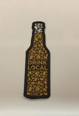 Loving WV WV Drink Local Beer Sticker
