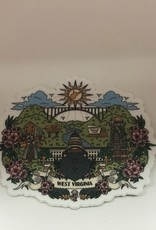 Wild & Wonderful Lifestyle Company WV Day Sticker