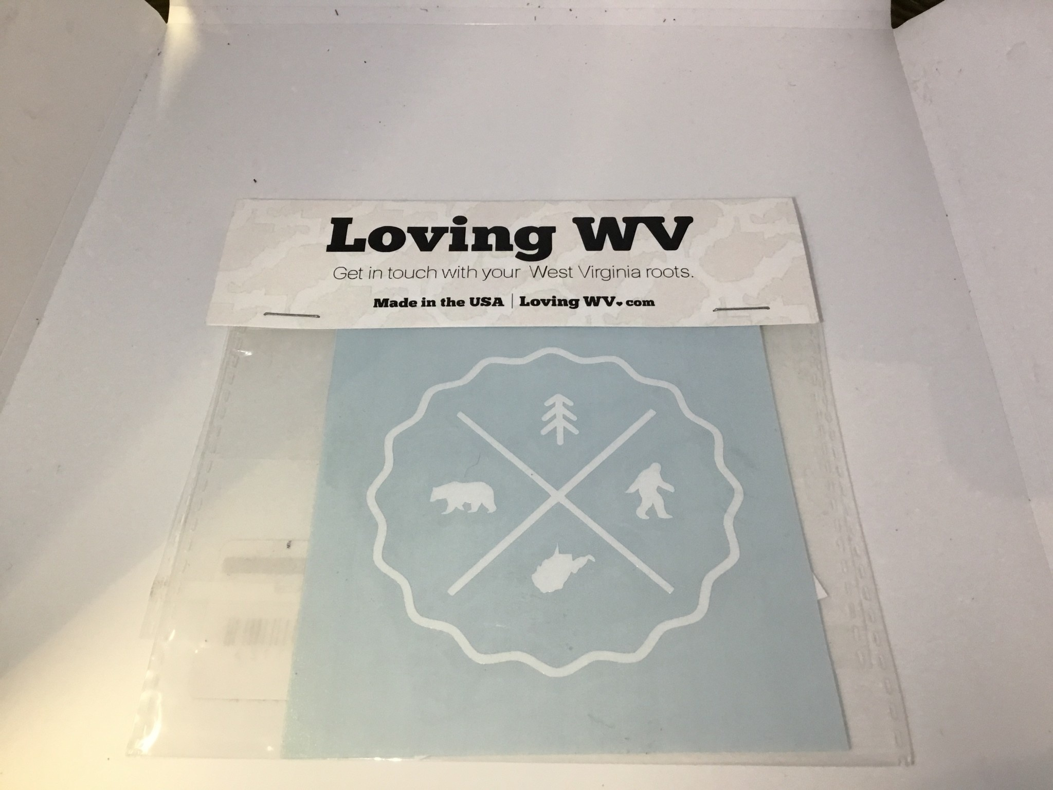 Loving WV I Believe Decal