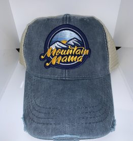 Loving WV Mountain Mama Patch Trucker Hat