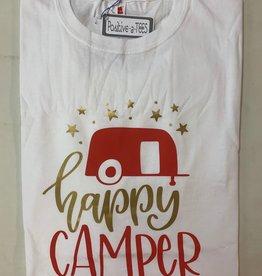 Positive-a-tees Positive-a-tees Happy Camper XL