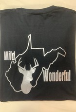 Positive-a-tees Positive-a-tees Men's W&W Deer LS Md