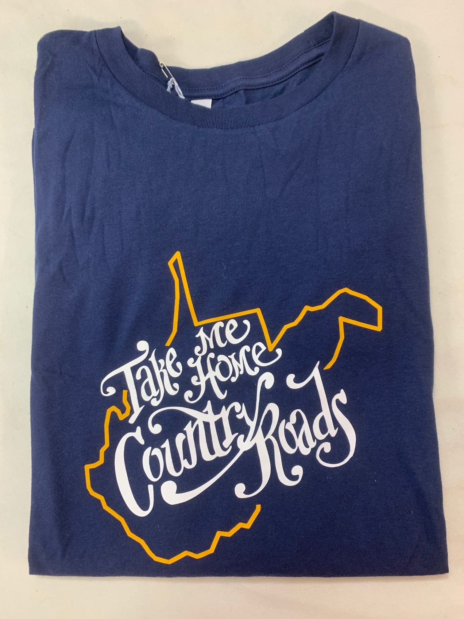 Positive-a-tees Positive-a-tees Take Me Home LS Navy Lg