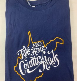 Positive-a-tees Positive-a-tees Take Me Home LS Navy XL
