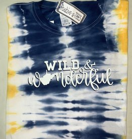 Positive-a-tees Positive-a-tees Wild & Wonderful Tie-Dye Md