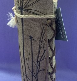 Randy Selbe Artisan Randy Selbe Tall Herb Imprint Vase
