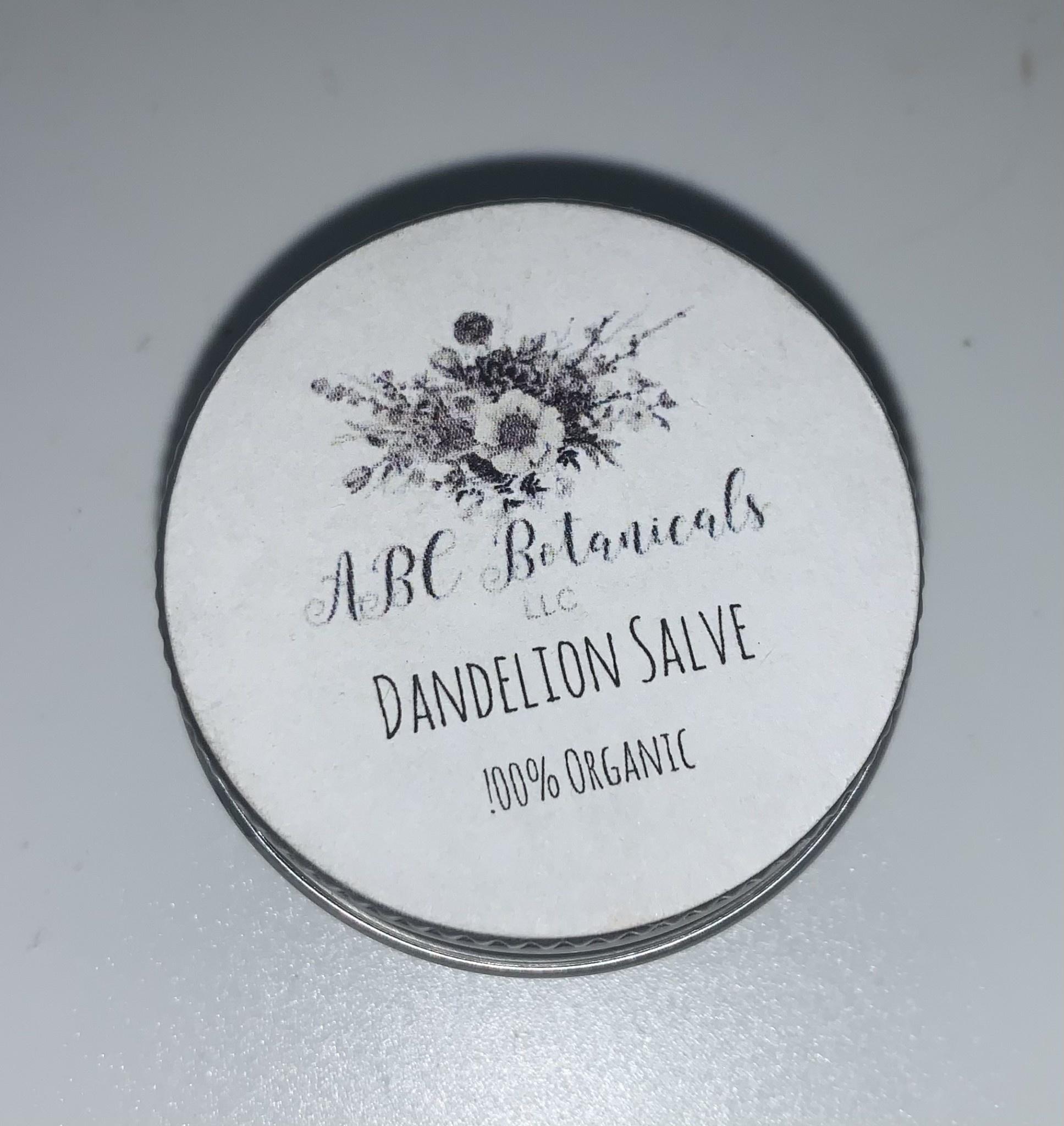 ABC Botanicals Dandelion Salves
