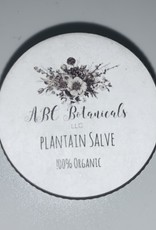 ABC Botanicals Plantain Salves