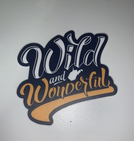 Loving WV Wild & Wonderful Sticker