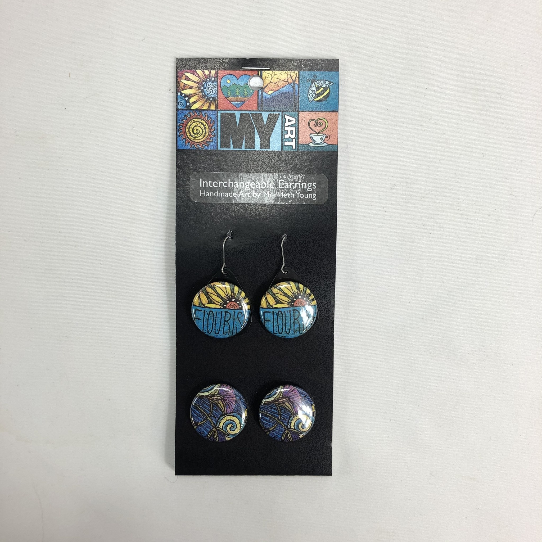 M Young Earrings