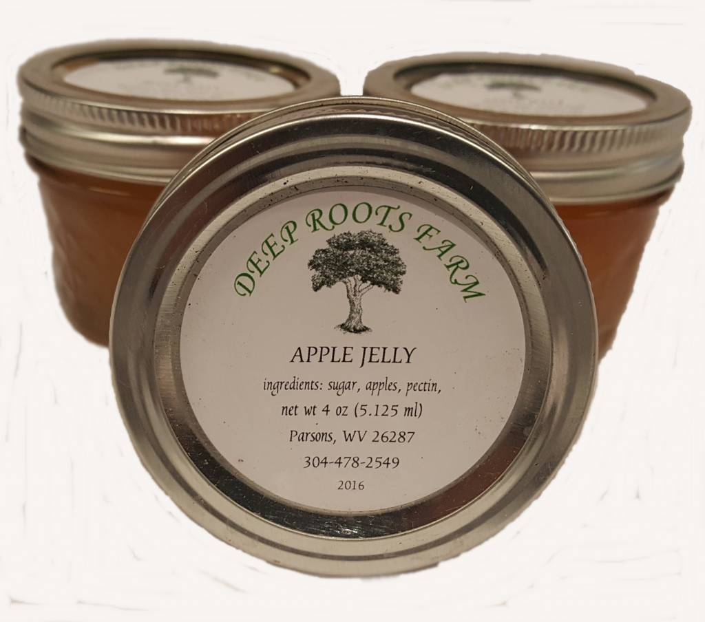 Deep Roots Farm Deep Roots Apple Jelly