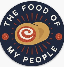 Loving WV Food of My People - Pep Roll Sticker