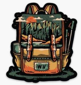 Loving WV Seneca Backpack Sticker